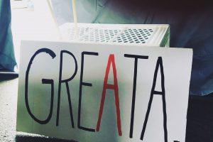 GREATA - Dank Greta von Thunberg wird die Jugend nicht angehört.